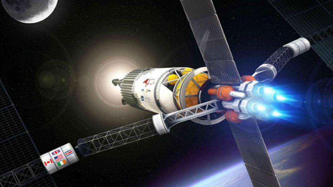 Супербыстрый двигатель позволит добраться до Марса за 39 дней