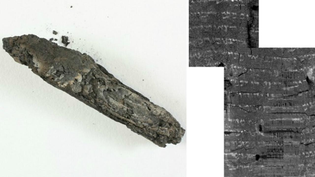 Современные технологии помогли расшифровать текст с обугленного 1500-летнего свитка