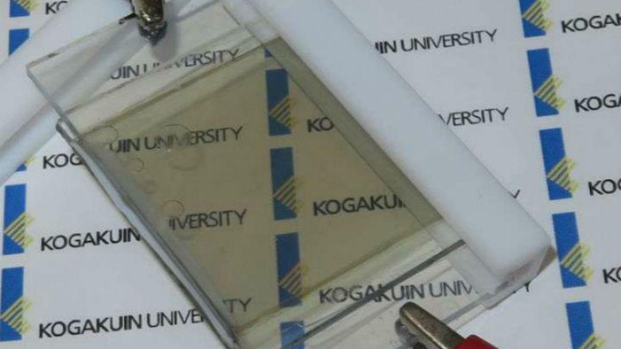 Новый прозрачный литиево-ионный аккумулятор заряжается от солнца