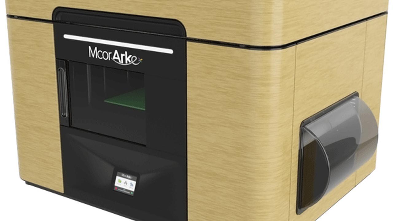 """Представлен компактный полноцветный """"бумажный"""" 3D-принтер"""