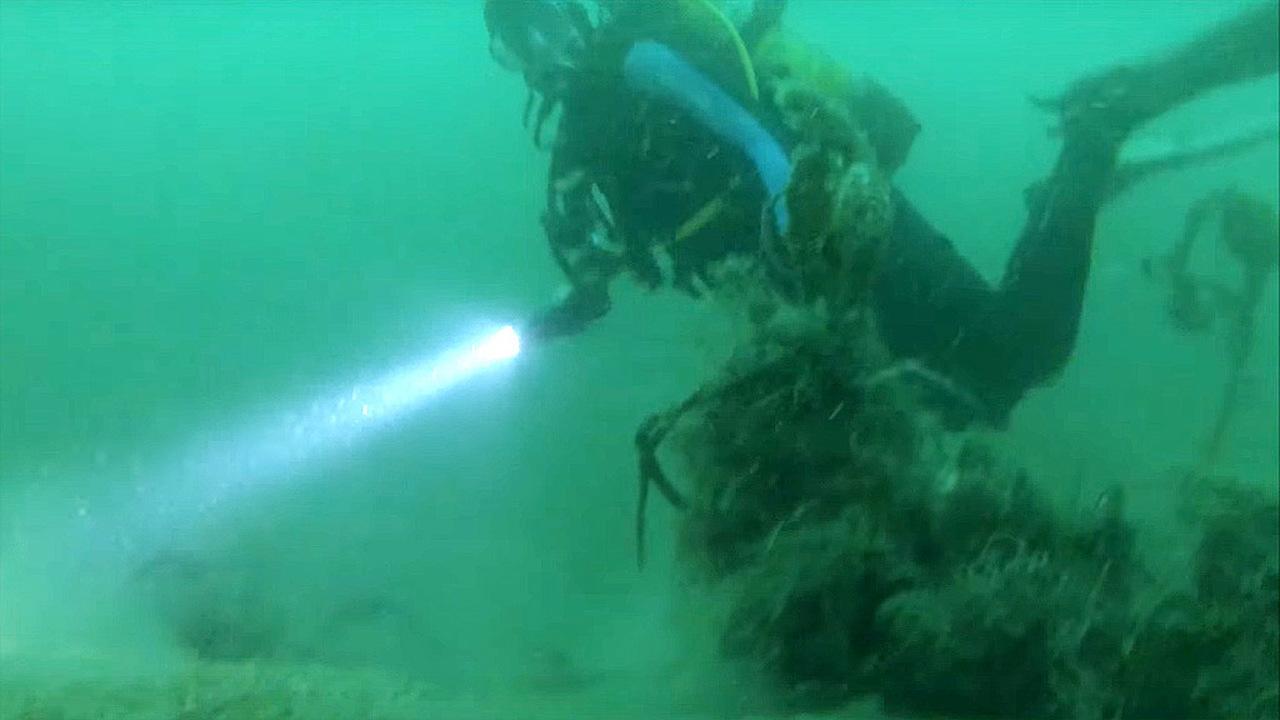 """У берегов Англии найдена немецкая """"субмарина-призрак"""" U-31"""