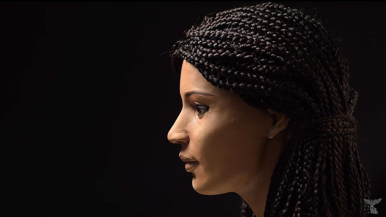 Голова древней мумии обрела лицо и историю болезни