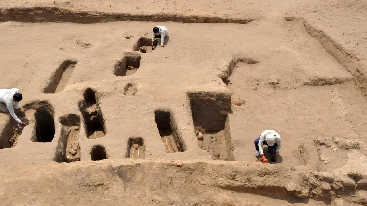 В Перу обнаружено ритуальное место захоронения детей без стоп