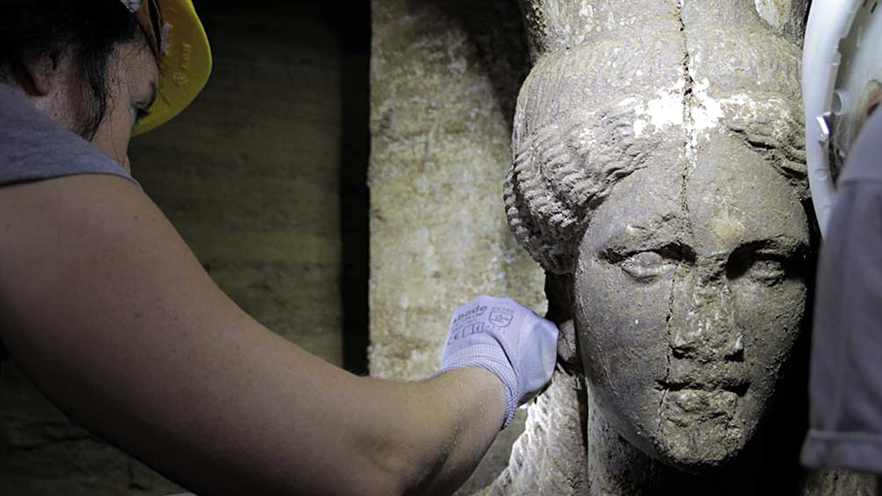 Из глубин Амфиполиса: в гробнице эпохи Александра Македонского обнаружено скрытое помещение