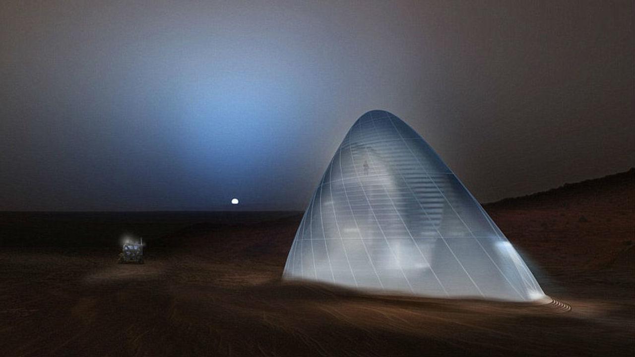 """""""Жилищный вопрос"""" на Марсе помогут решить ледяные дома"""