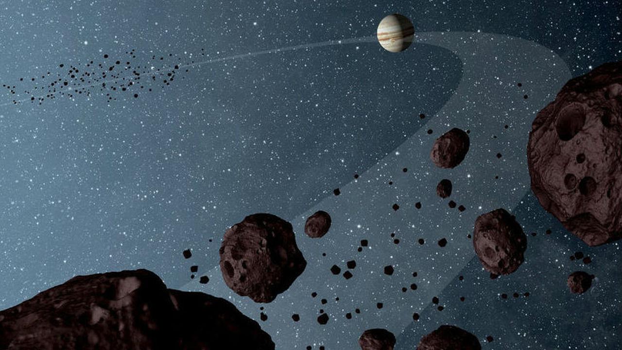 Два космических аппарата НАСА навестят троянские астероиды Юпитера и удивительную Психею