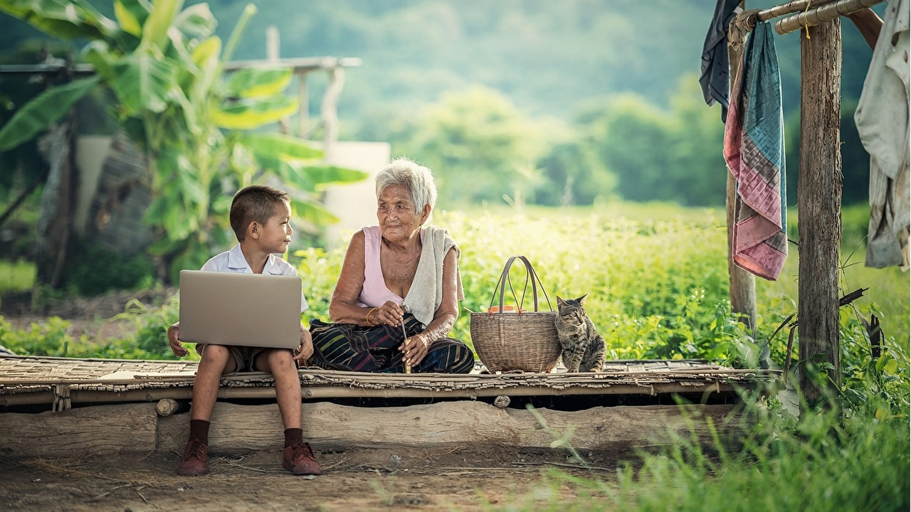 Антропологи: бабушки появились, когда человек научился мыслить и помнить