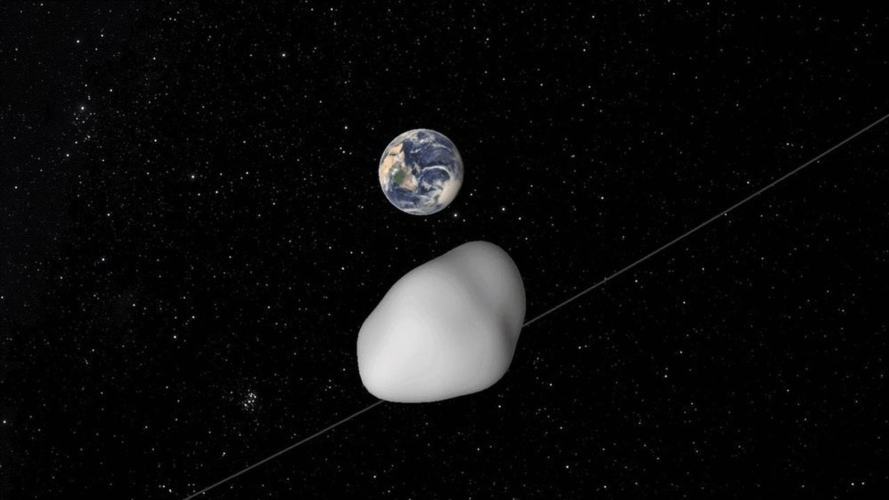 Мимо Земли пролетел астероид размером с небольшой город
