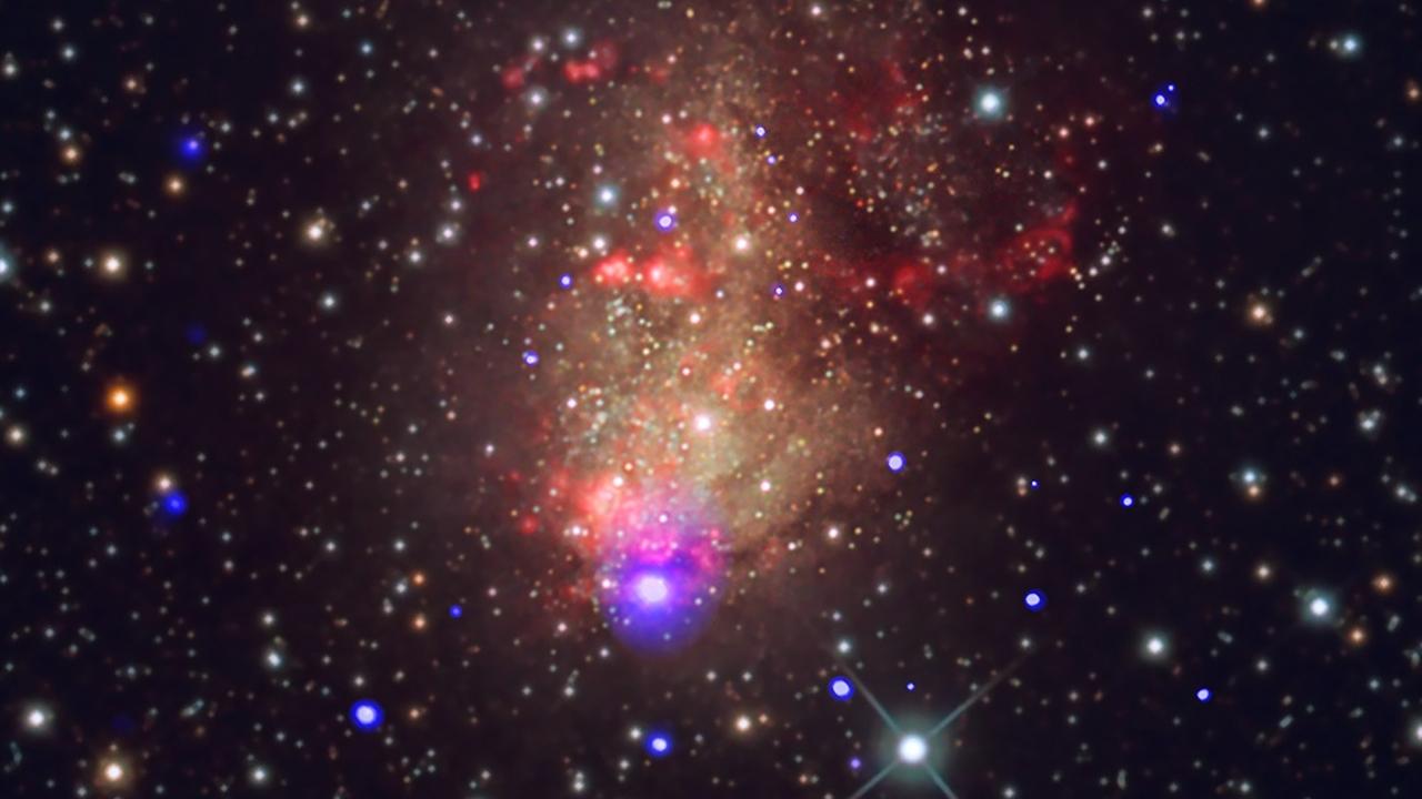 Несколько рентгеновских фотонов рассказали о странной вуали на месте взрыва мёртвой звезды