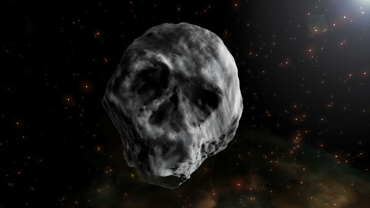 """Он возвращается: в 2018 году к Земле приблизится """"космический череп"""""""