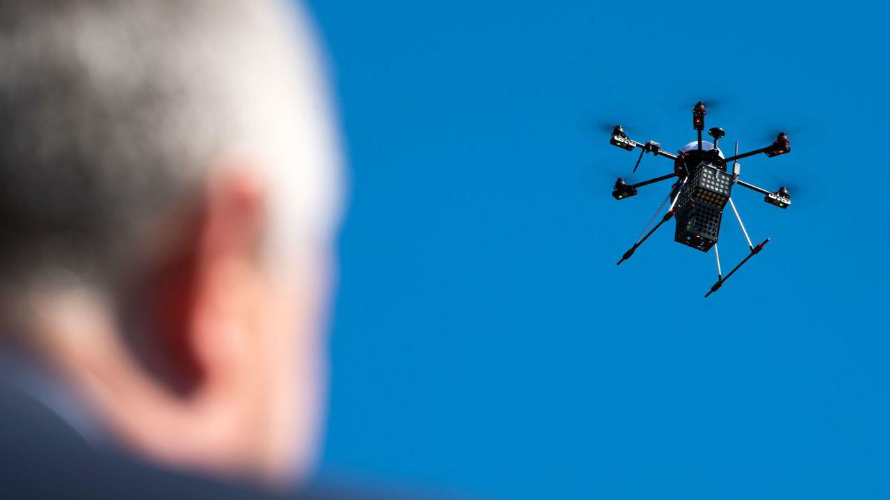 Перехват радиосигналов поможет узнать, шпионит ли за вами дрон