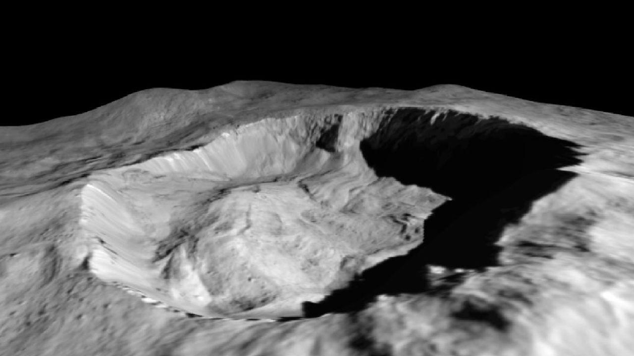 Космический зонд впервые обнаружил изменения на поверхности Цереры