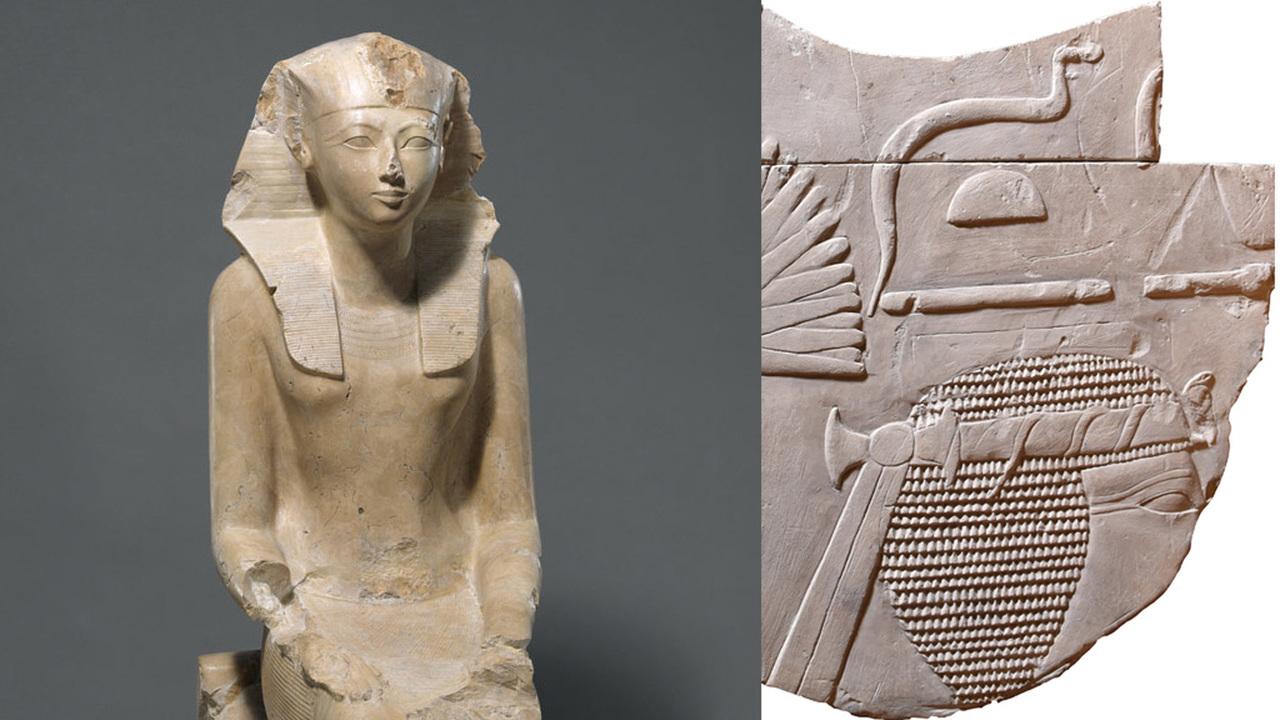 """""""У нас просто челюсть отвалилась"""": в Англии случайно нашли редкое изображение женщины-фараона"""