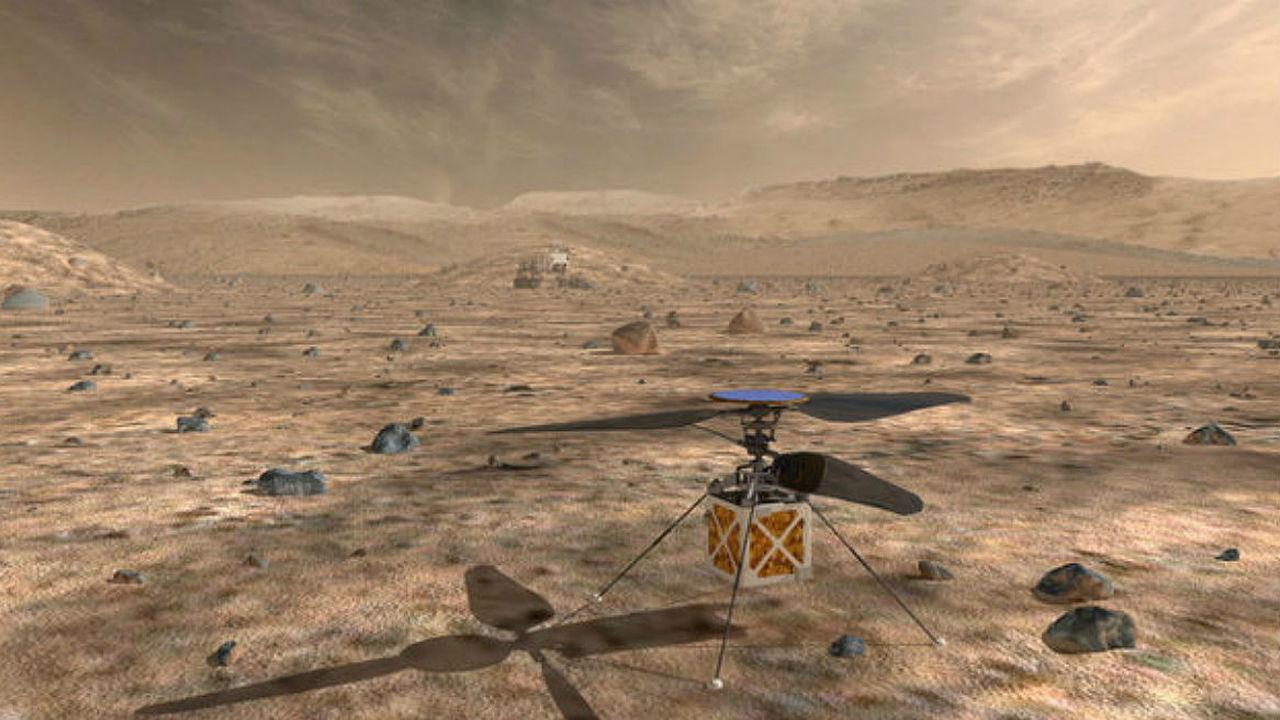 НАСА решило запустить на Марс вертолёт