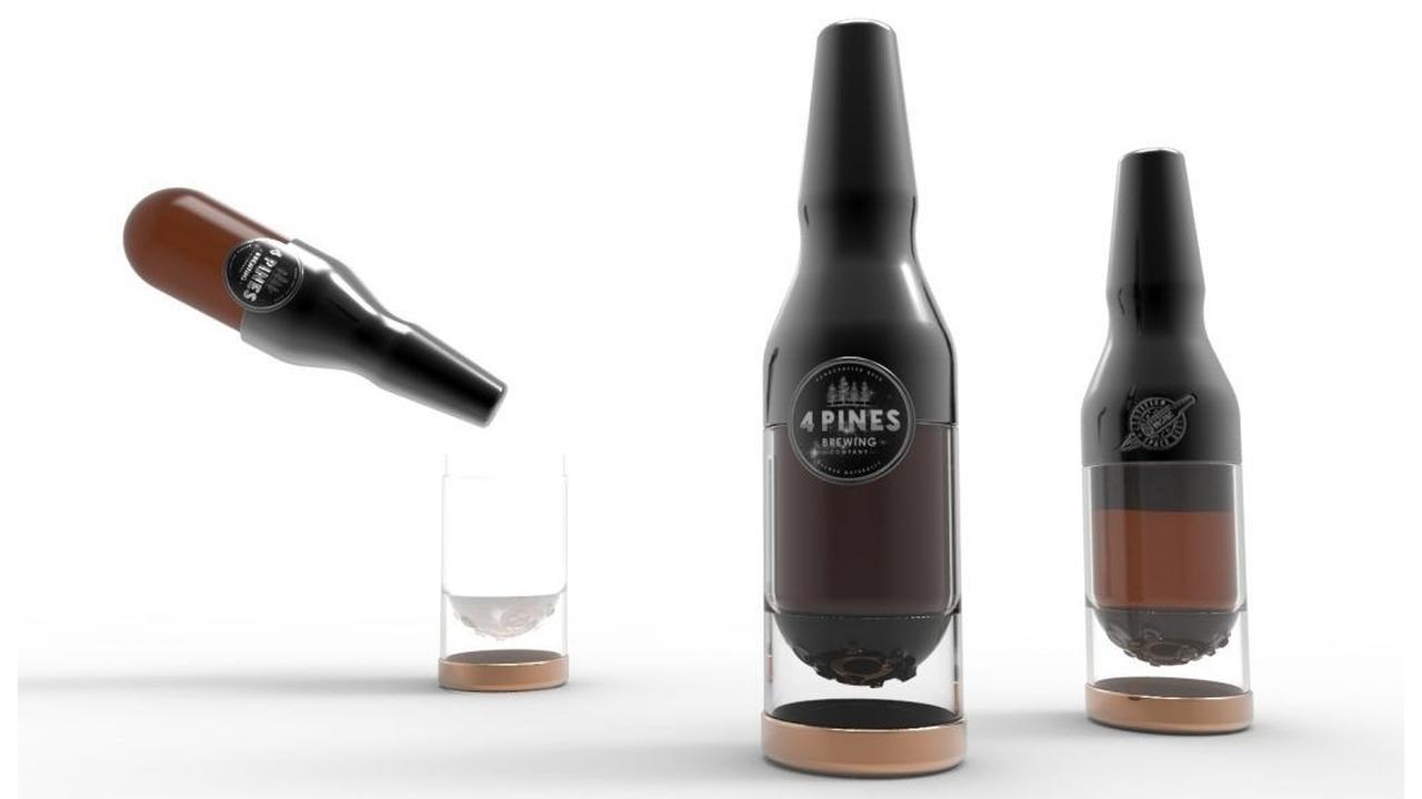 Австралийцы создали первое космическое пиво в специальных бутылках