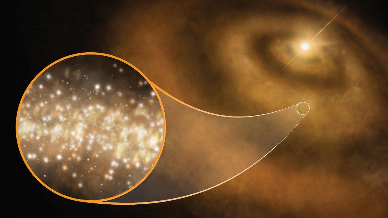 Источником загадочного космического излучения оказались наноалмазы