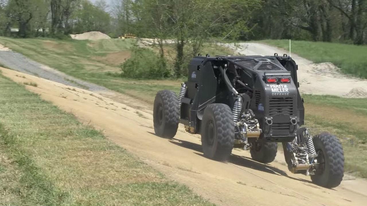 Спасти военную технику от противника помогут колёса-трансформеры и виртуальная реальность