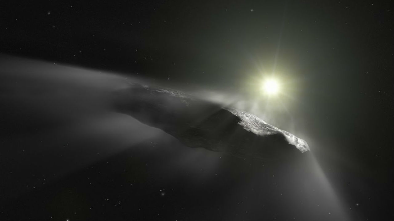 """Инопланетный корабль? Движение """"первого межзвёздного астероида"""" озадачило астрономов"""