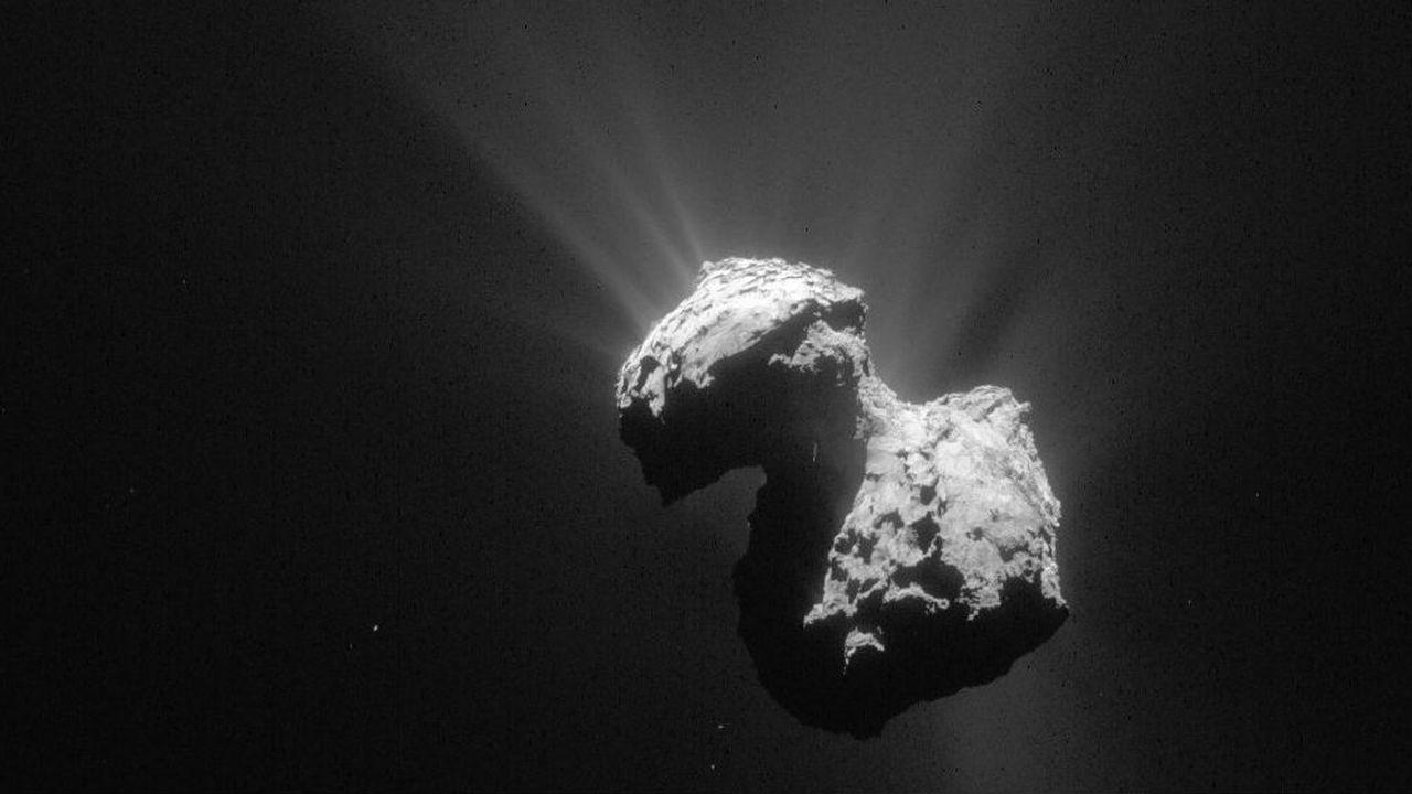 Недра кометы Чурюмова – Герасименко выделяют молекулярный кислород