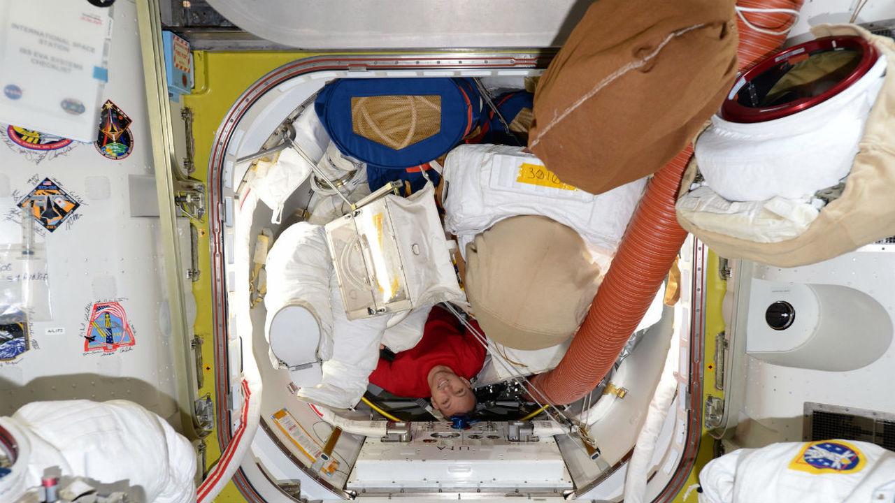 Российская информационная система помогла изучить мочу космонавтов