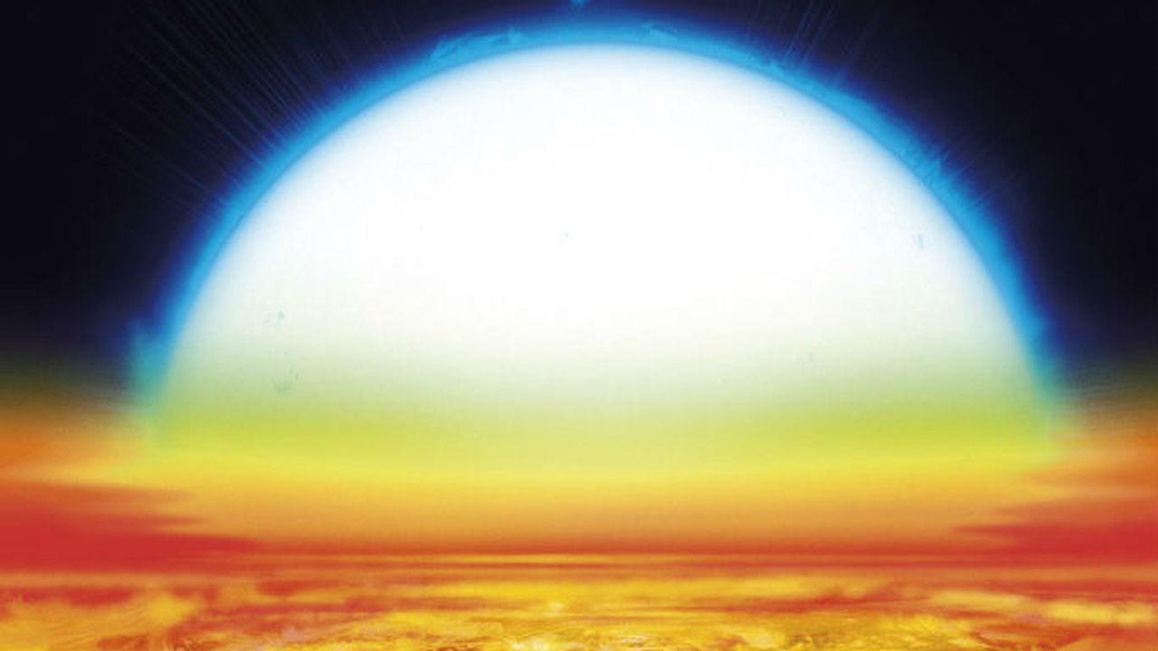 Пылающий ад: в атмосфере раскалённой экзопланеты на атомы распадаются даже титан и железо