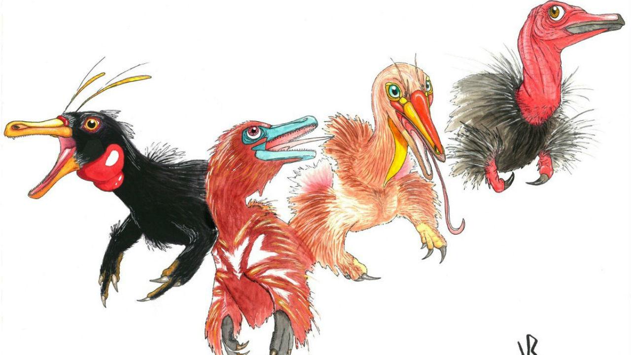 Ископаемые рассказали, как хищные динозавры превратились в странных насекомоядных существ