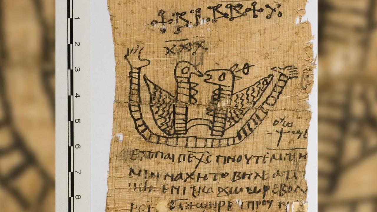 Историки изучили египетский папирус с магическими рисунками и любовными заклинаниями