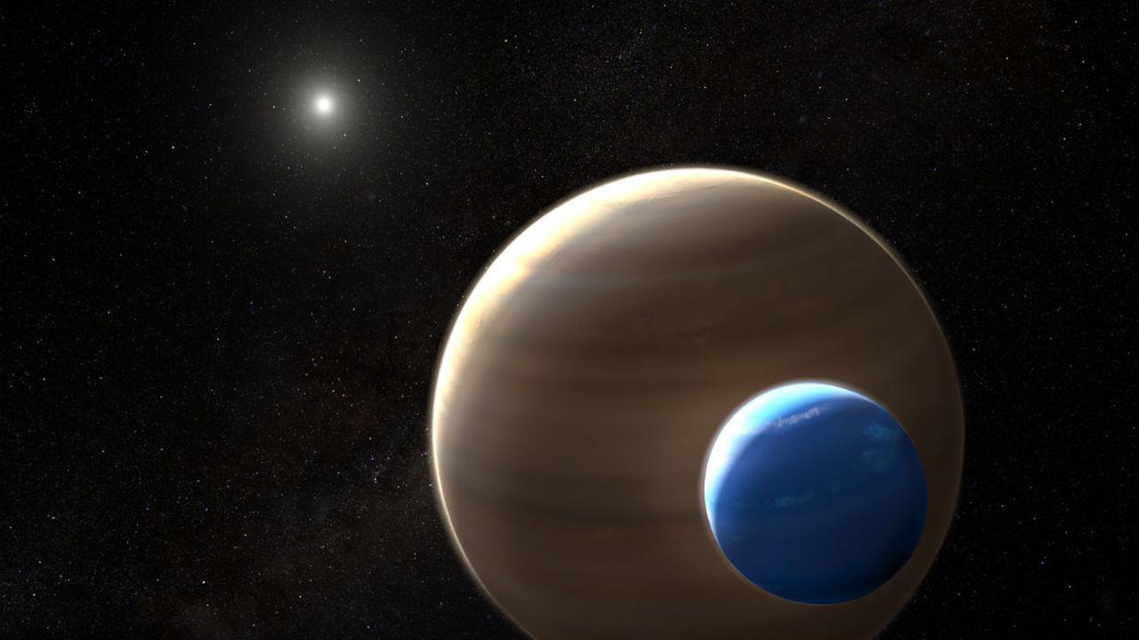 """""""Хаббл"""" обнаружил доказательства существования первой известной экзолуны"""