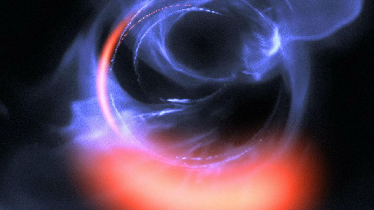 """Астрономы """"заглянули в рот"""" сверхмассивному монстру в центре Млечного Пути"""