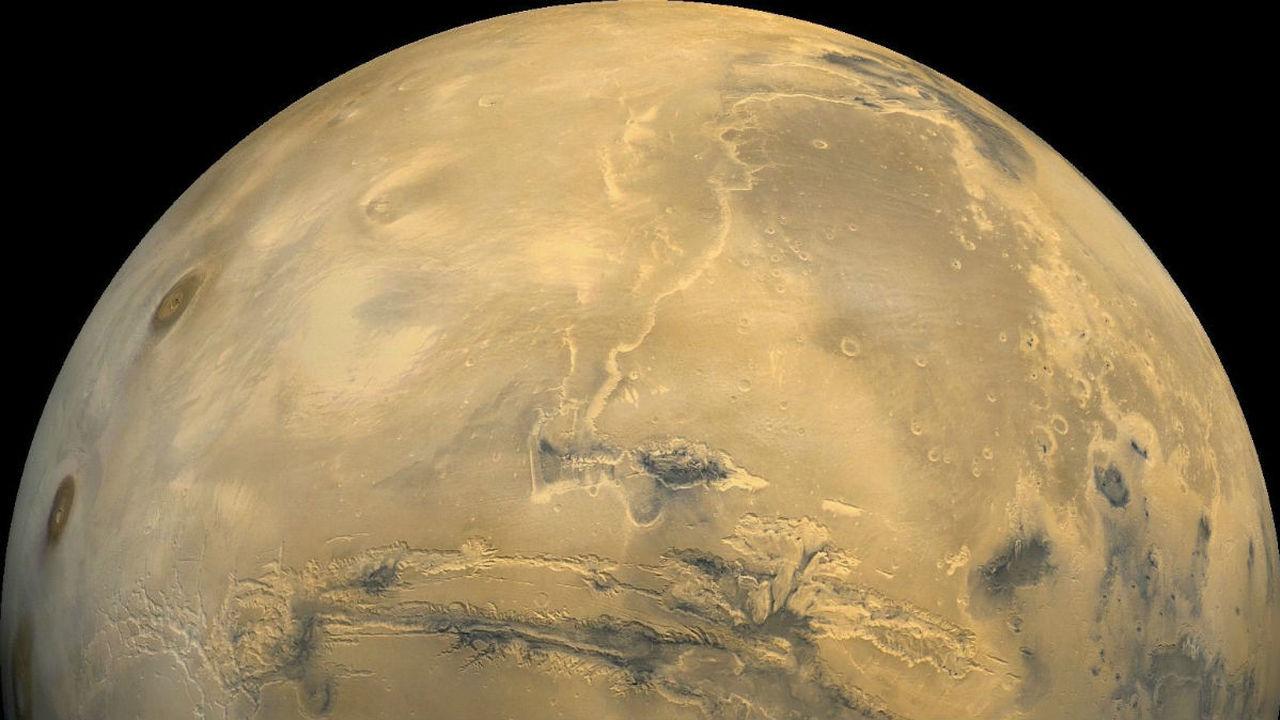 "На Марсе нашли ""блестящий самородок"""