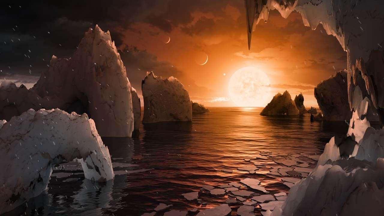 Астрономы изучили климат семи земплеподобных планет системы TRAPPIST-1