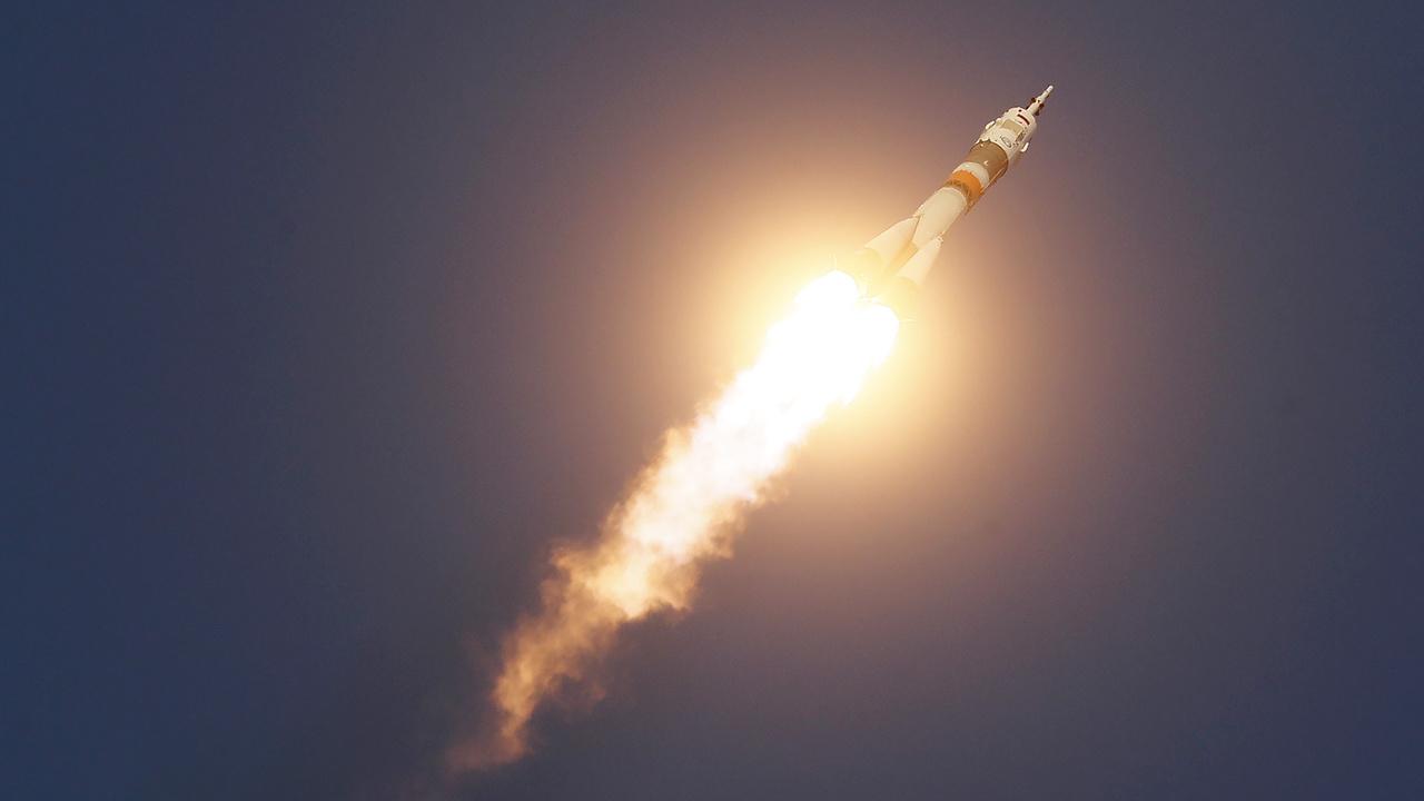 """""""Союз"""" вышел на орбиту и раскрыл солнечные батареи"""