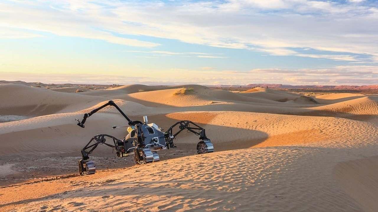 Будущие марсианские роверы успешно прошли испытания в Сахаре
