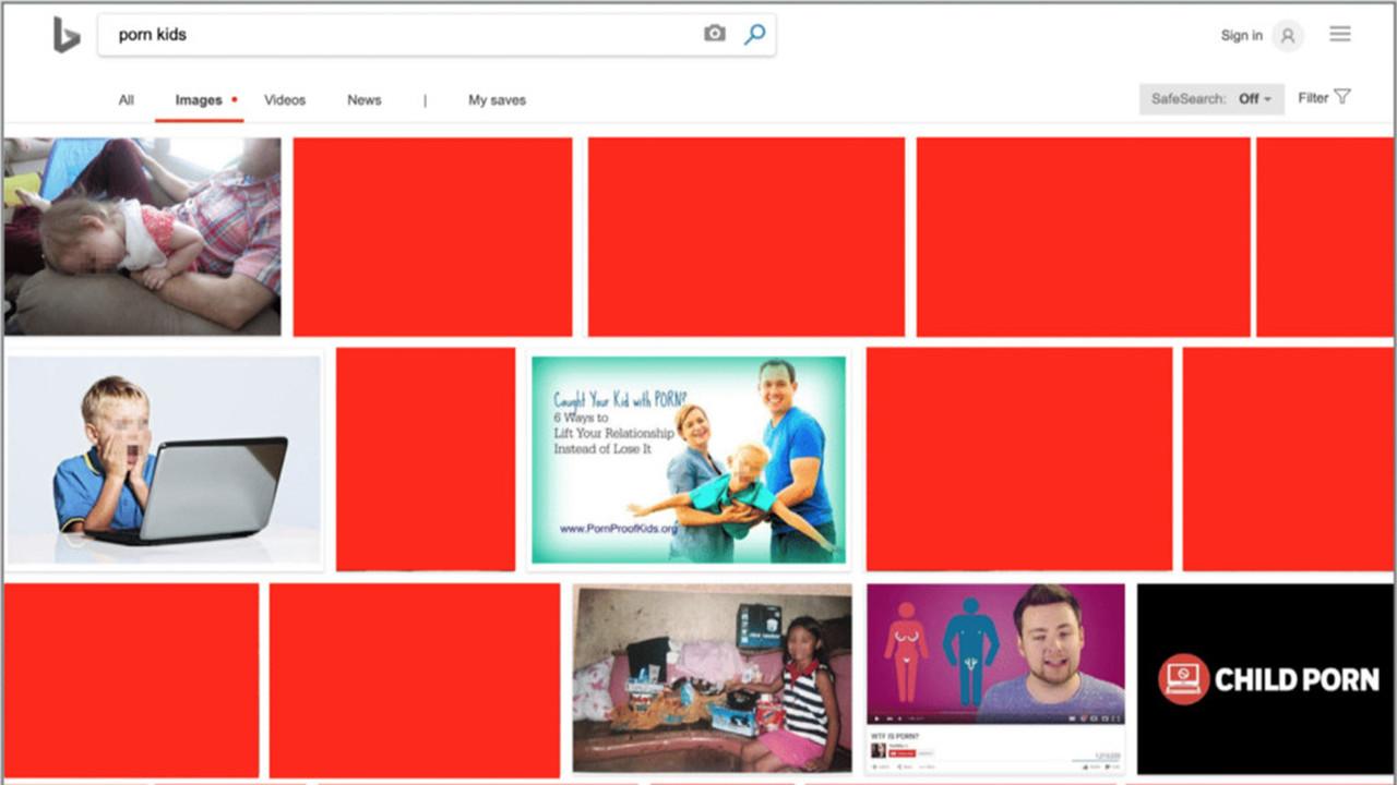 Расследование: поисковик Microsoft находит и рекомендует детское порно
