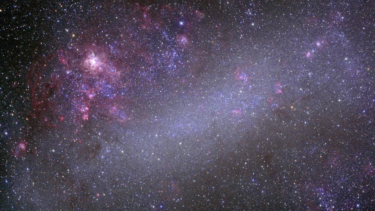 Создана первая подробная химическая карта других галактик