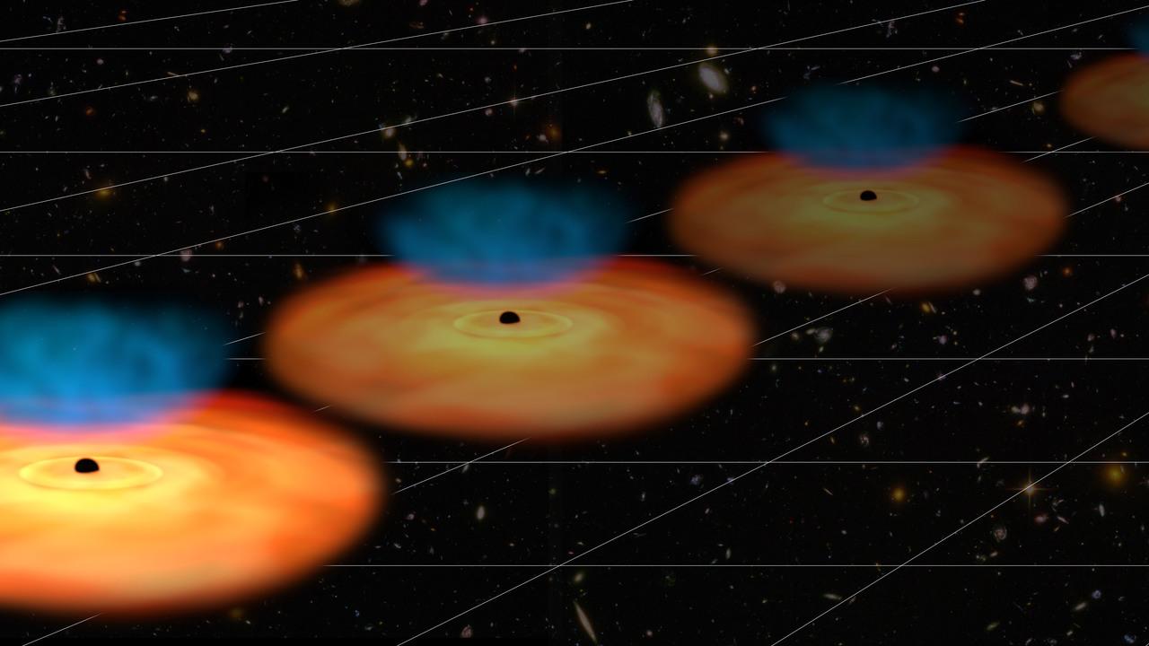 Наблюдения далёких квазаров могут перевернуть представления о тёмной энергии