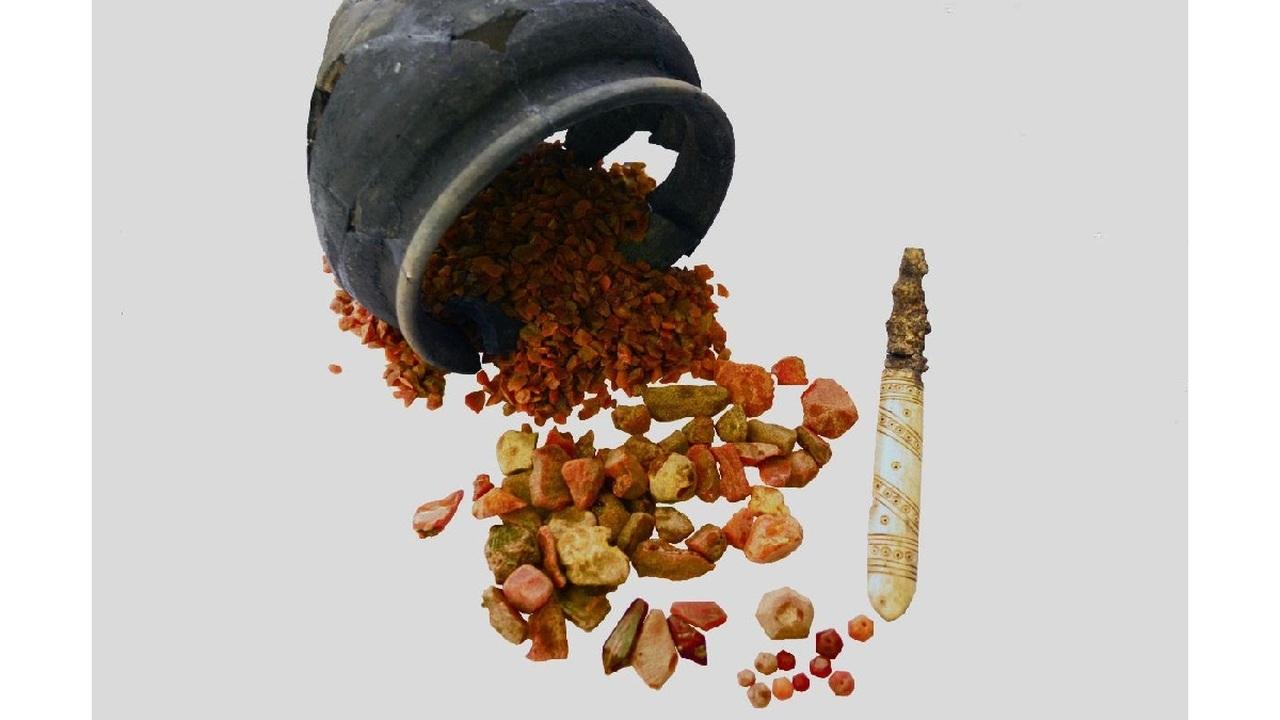 В Татарстане найдена мастерская по обработке янтаря времён Золотой Орды