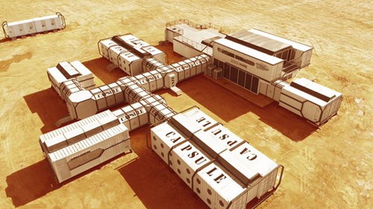 """В Китае начал работу """"филиал Марса"""" для исследователей и туристов"""