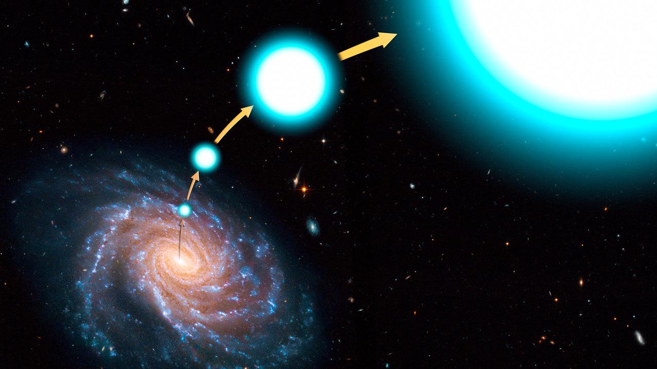 Астрономы выяснили, как Млечный Путь плюётся звёздами