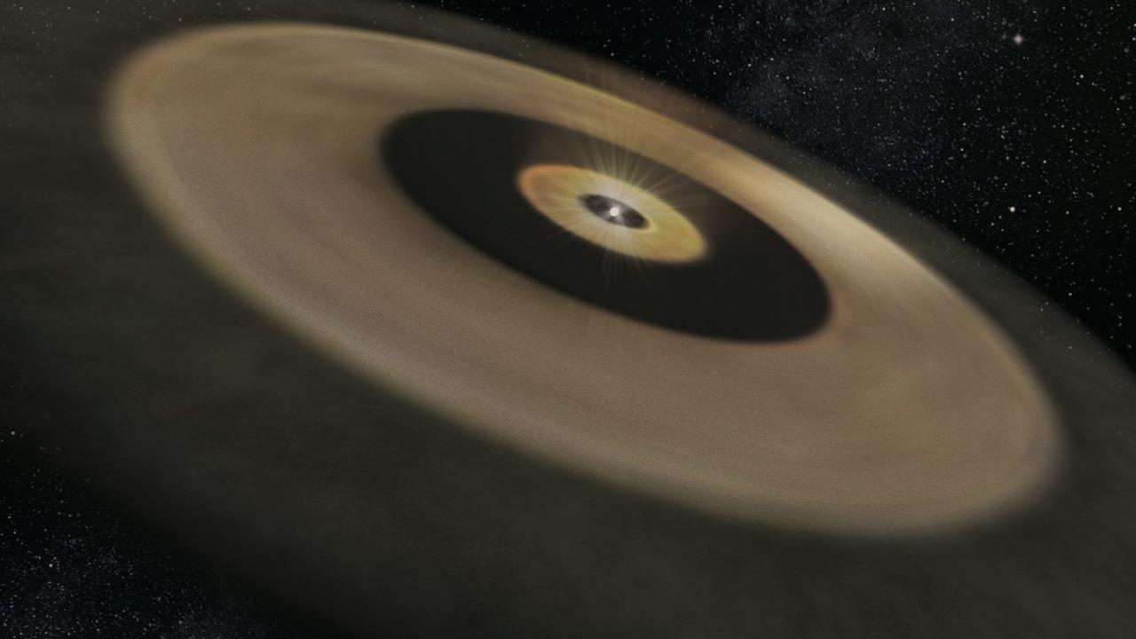 Поблизости от Земли рождается двойник Солнечной системы