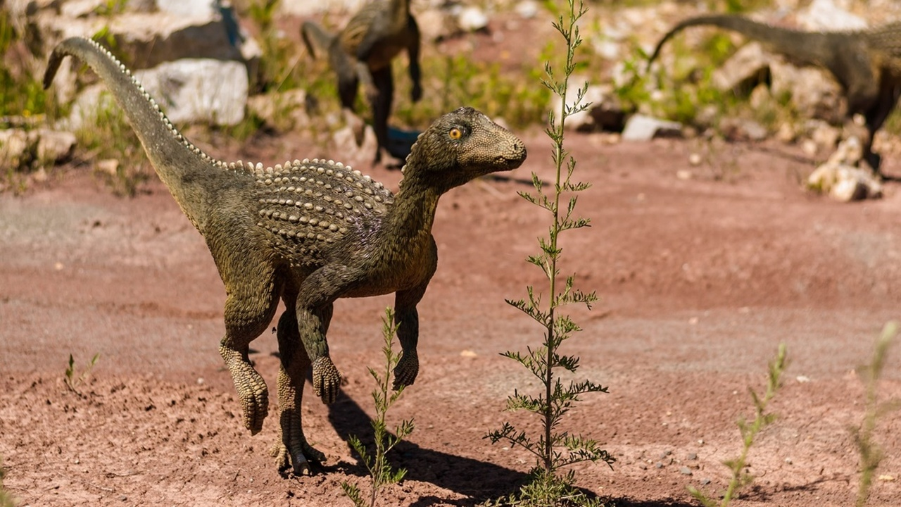Видна каждая чешуйка: найдены беспрецедентно чёткие отпечатки кожи динозавра