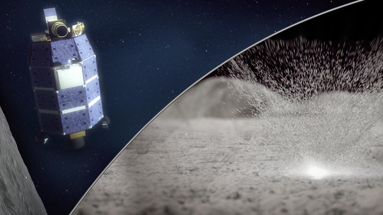 Астрономы: метеориты выбивают из Луны воду