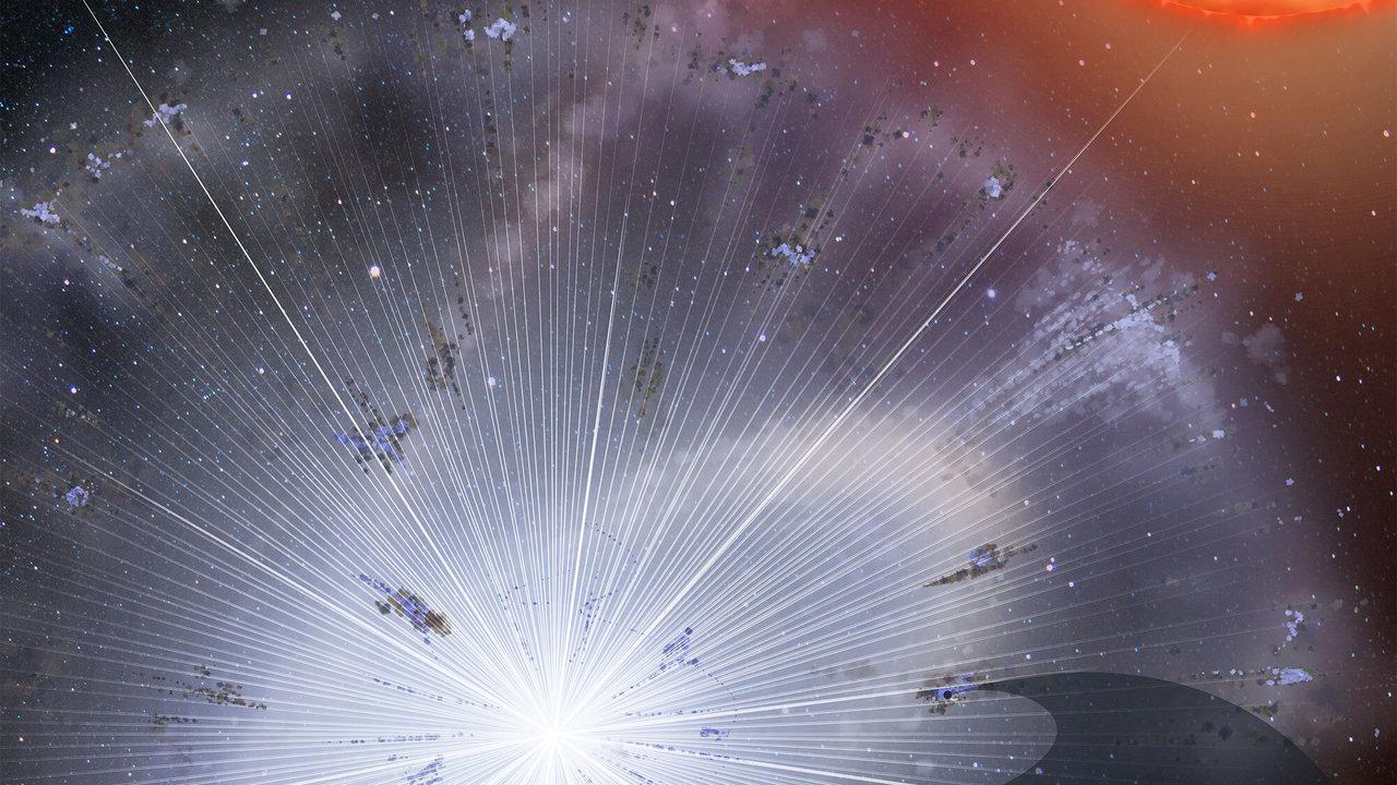 Зерно пыли, рождённой до Солнца, раскрыло новые тайны звёздных взрывов