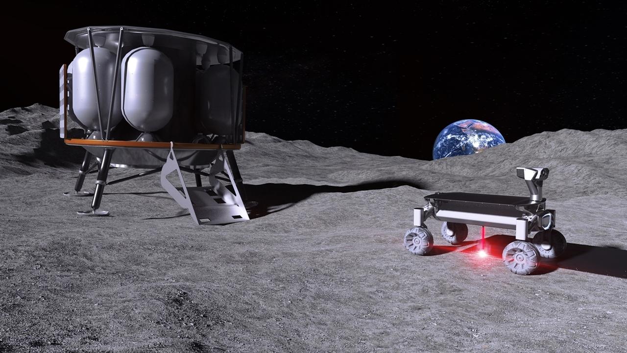 """Лазерный 3D-принтер """"Восход Луны"""" создаст стройматериалы из лунной пыли"""