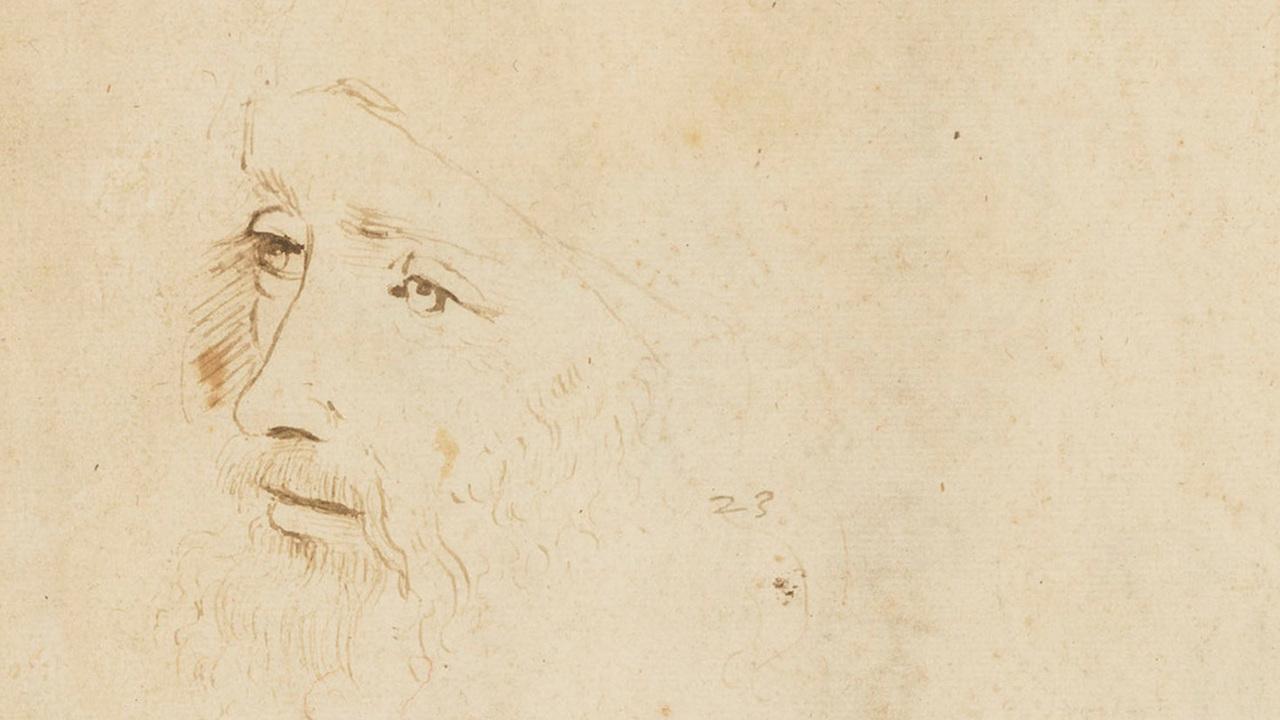 В Британской королевской коллекции нашелся второй прижизненный портрет Леонардо да Винчи