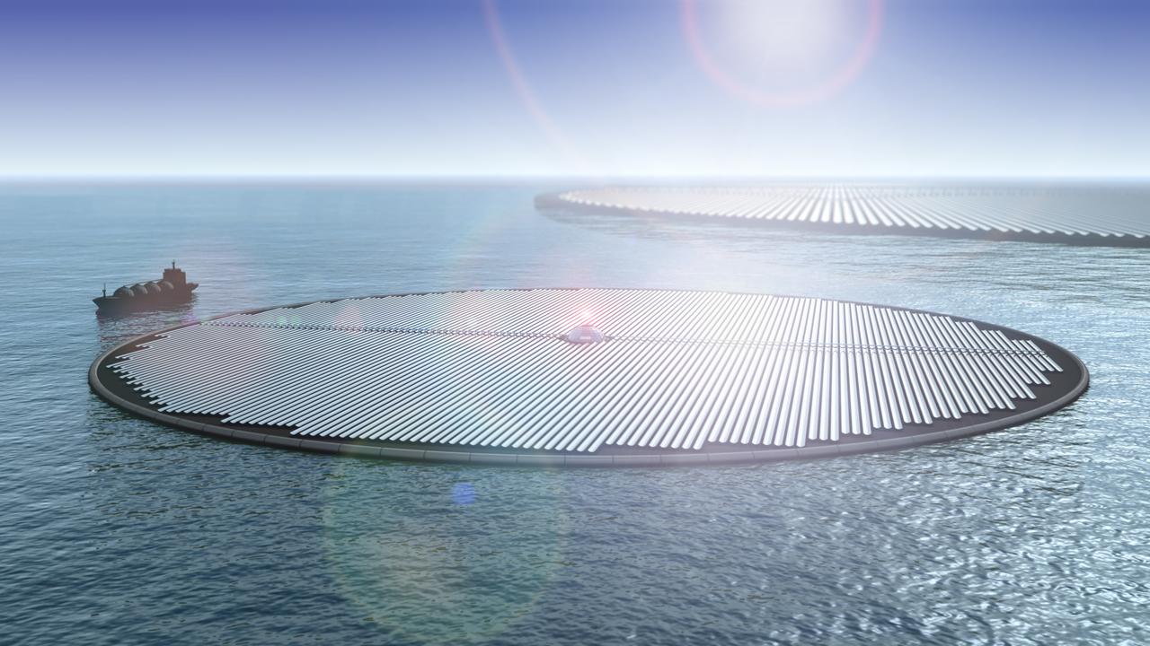 Плавучие электростанции нейтрализуют выбросы углекислого газа по всему миру
