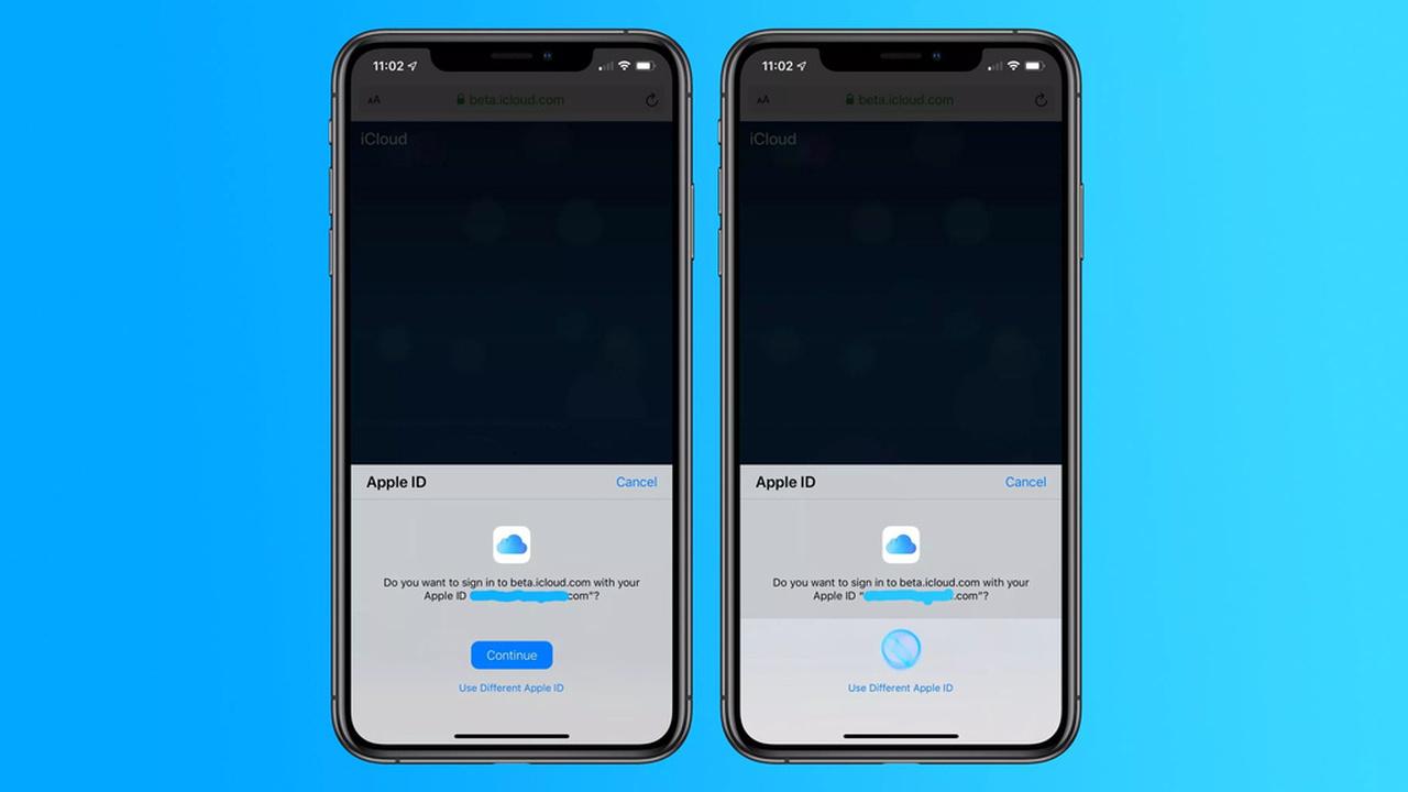 Apple тестирует биометрическую авторизацию для сайта iCloud.com