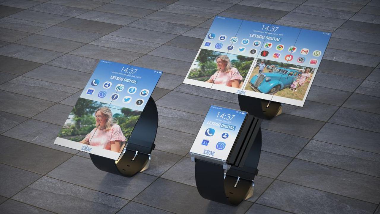 IBM патентует смарт-часы, превращающиеся в планшет