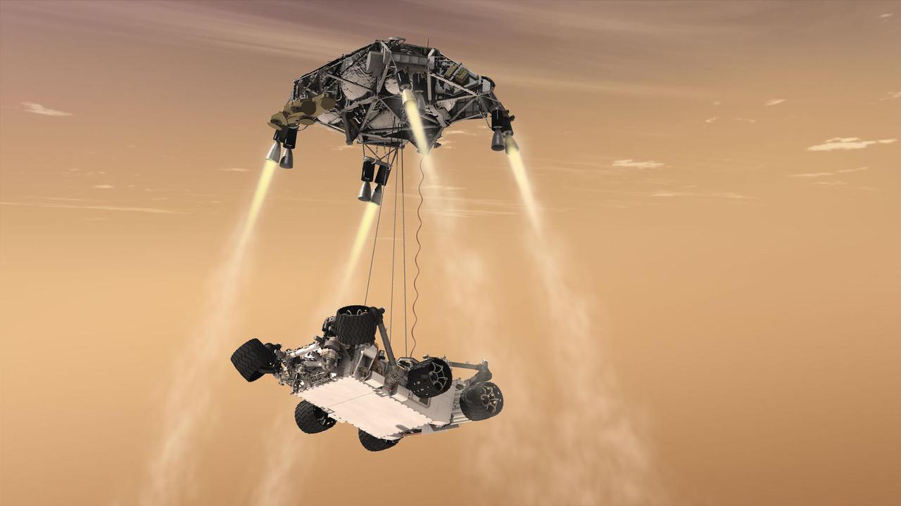 В НАСА создают роботов-скалолазов для освоения других планет
