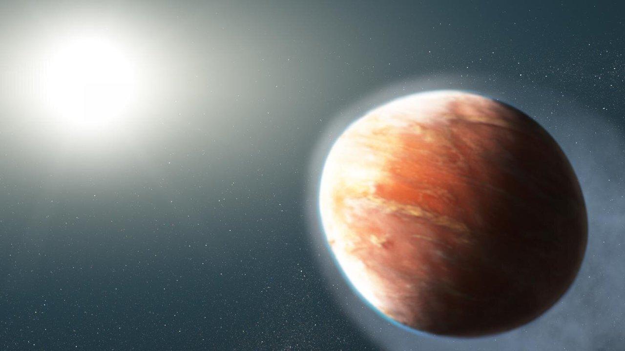 Металл и ад: найдена планета, извергающая испарившееся железо